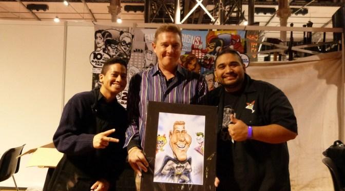 Fusion Designs Caricatures: Live Art Entertainment Experience at Paris Comic Con