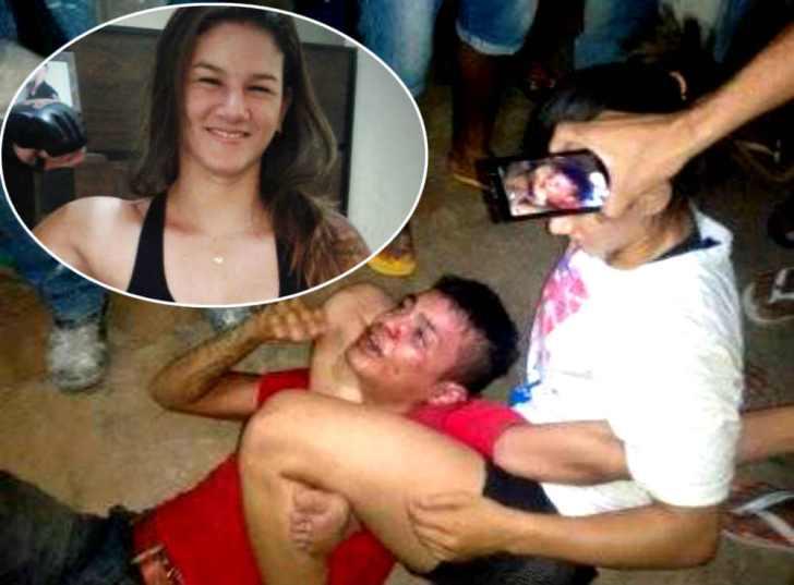 美しすぎる女性格闘家が強盗を逮捕