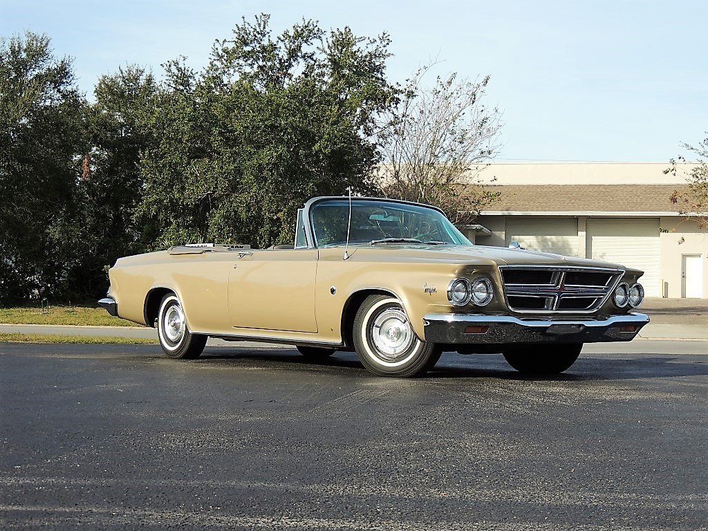 Banc Convertible En Table 1964 Chrysler 300 K Convertible Hollywood Wheels Auction Shows