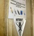 Proibido Bomba de Gás Lacrimogênio