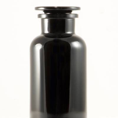 Black jar - Miron Violet Glass Apothecary Jar 1L