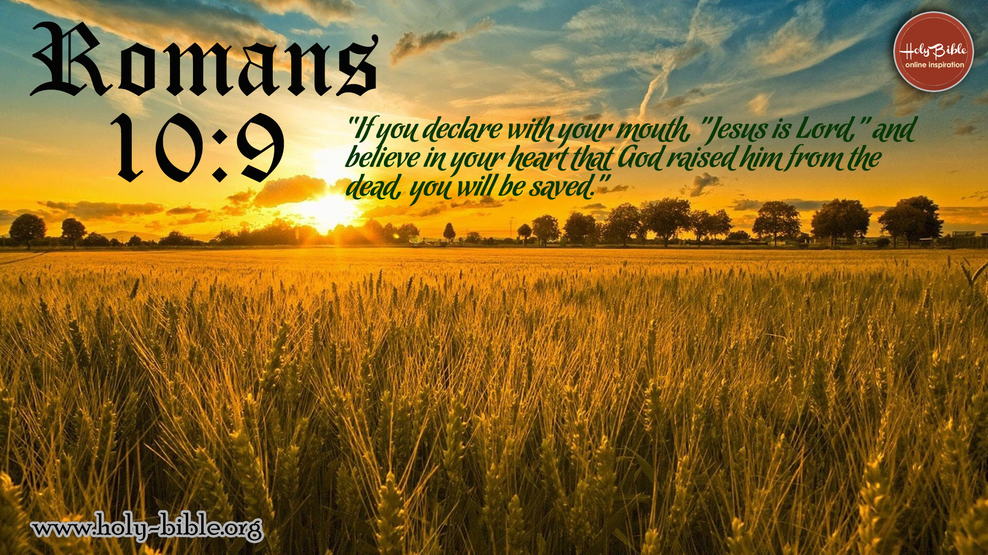 Hd Christian Quotes Wallpapers 1920x1080 Bible Quotes Romans 10 9 Quotesgram