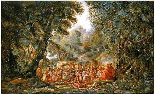 Spiritual Wallpapers With Quotes Photos Kuruksetra And Naimisaranya Iskcon Desire Tree