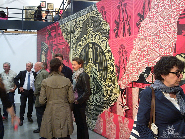 expo Obey shepard Fairey