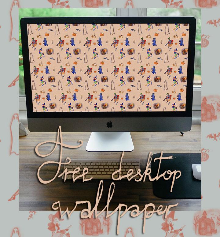free desktop wallpaper halloween