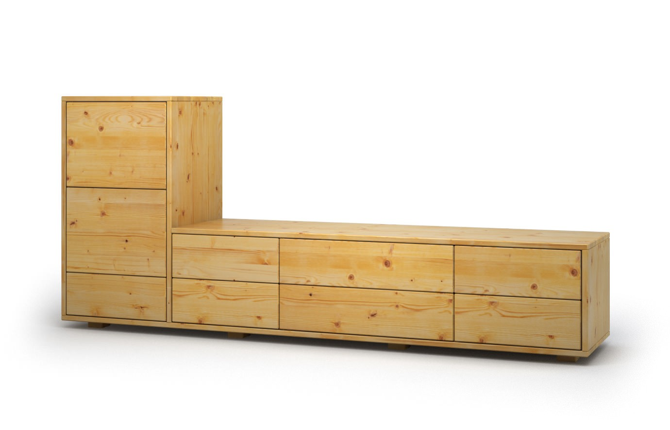 Schwebe Sideboard Sofia In Kiefer Sideboard
