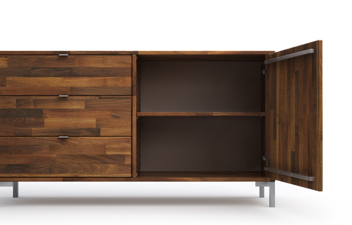 Baltimore Walnuss Kommode Baltimore Walnuss Sideboard Wohnwand Baltimore Walnuss