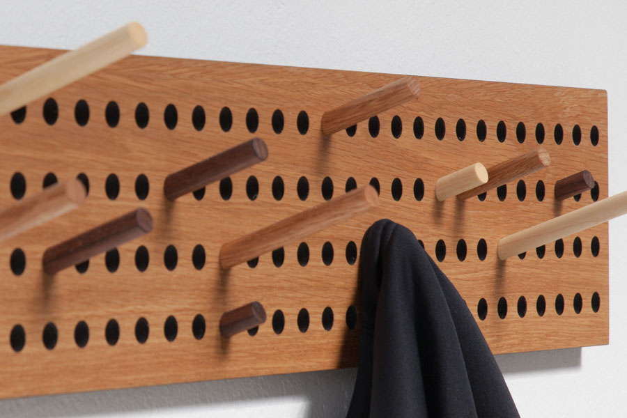 Wandgarderobe Design Design Garderobe Scoreboard Von We Do Wood