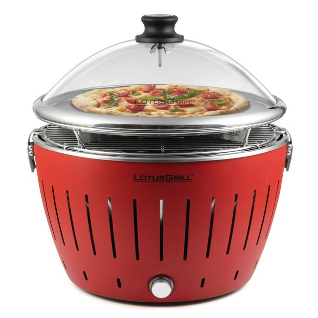 Tischgrill Kingstone Pizzastein Set Für Lotusgrill