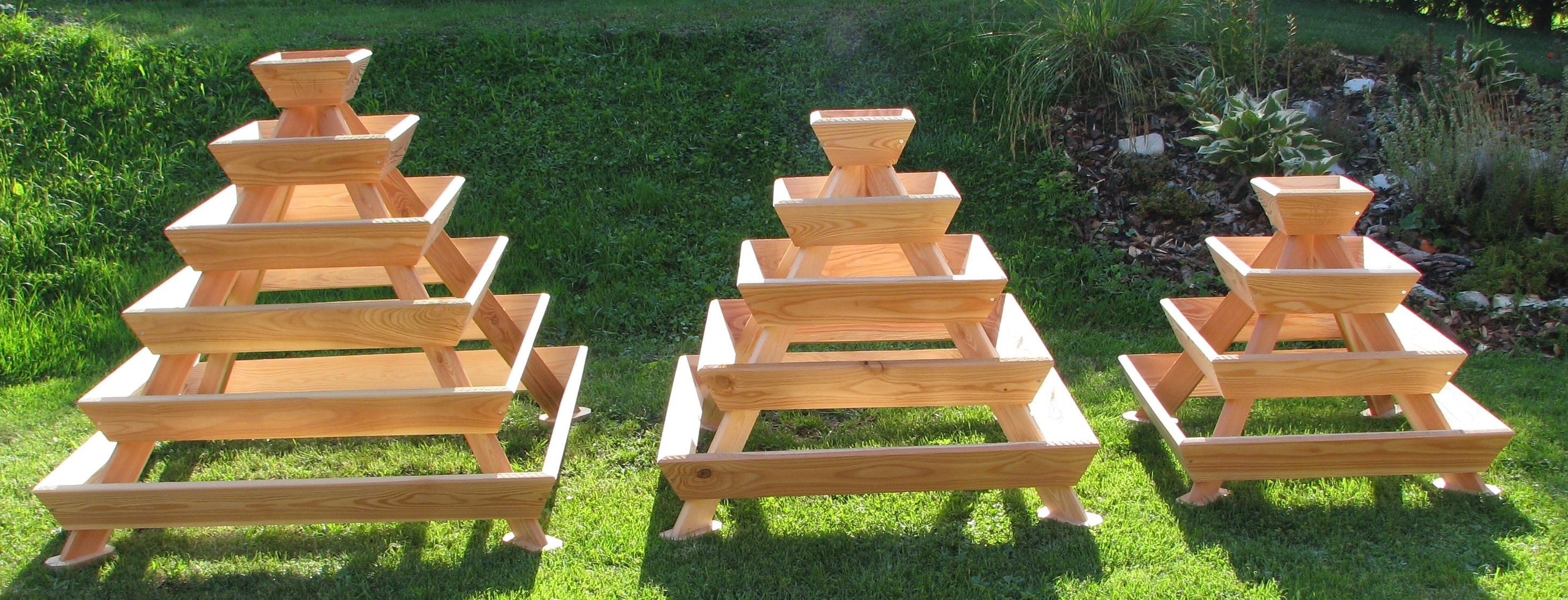 Hochbeet Pyramide Holz Oase Hochbeete