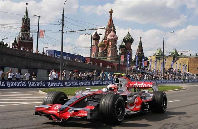 formula 1 McLaren-Moscow
