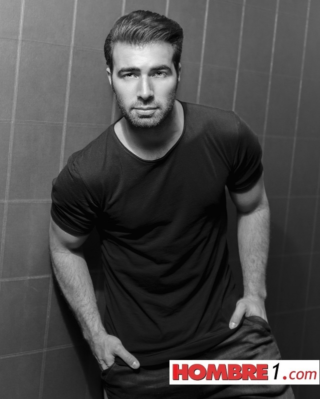 Jencarlos photographed exclusively for HOMBRE by Paul Tirado