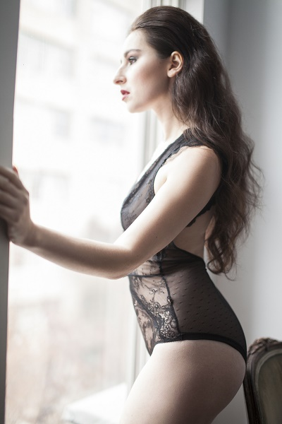(All Erato Lingerie photos: Inna photographed exclusively for HOMBRE by Paul Tirado)