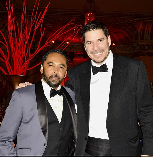 Marcelo Claure with HOMBRE Magazine's Francisco Romeo