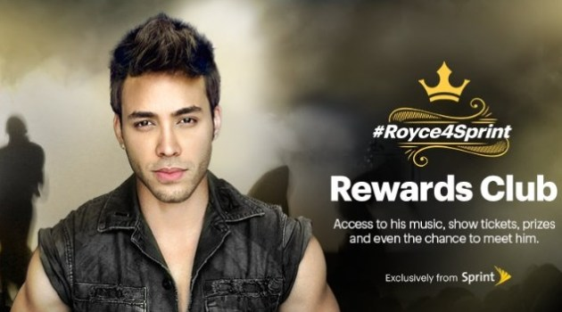 prince royce sprint