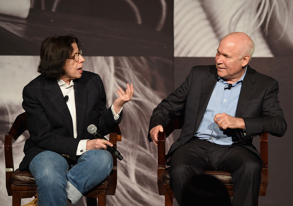 Steve McCurry with Fran Leibowitz