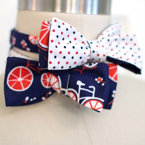 General Knot & Co. bicycle dots bowtie (Copy)