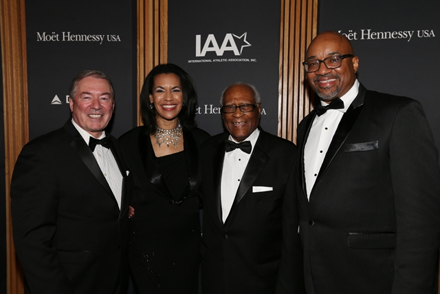 Jim Clerkin, Fredericka Whitfield, Herb Douglas and Rodney Williams