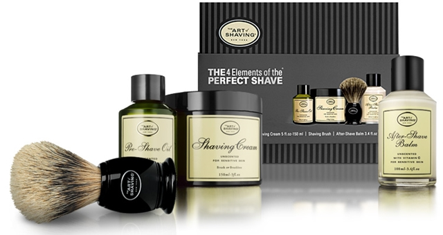 HOMBRE Father's Day Gift Guide Grooming 19 the-4-elements-of-the-perfect-shave (Copy)
