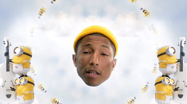 despicable me 3 with music from Pharrell Williams for HOMBRE Magazine 1