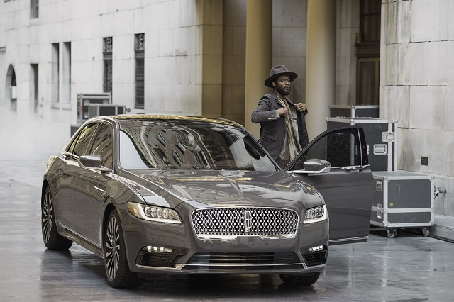 Gary Clark Jr. and the 2017 Lincoln Continental