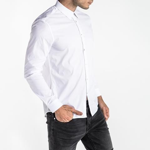 CRW049-White_02 Cristiano Ronaldo CR7 woven shirts for HOMBRE Magazine