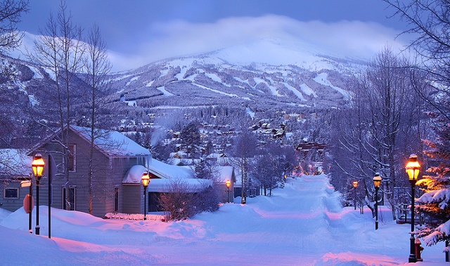 Winter Morning - Breckenridge Colorado