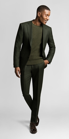 Black Lapel for HOMBRE Magazine forest-green-flannel-suit-extra-3 (Copy)
