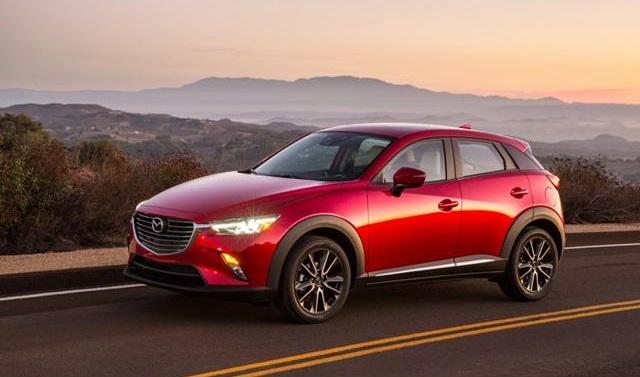 Mazda cx-3 dimensions