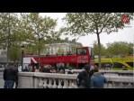 El Arco del Triunfo y los Campos Elíseos Parisinos