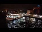 Puente de Galata en Estambul, entre pescadores
