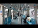Corriendo al tren, montando y de viaje por Estambul
