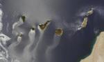 Las Islas Canarias desde el espacio