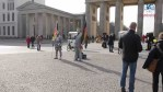 La puerta de Brandenburgo, Berlín