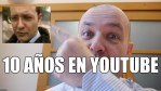 10 años en YouTube