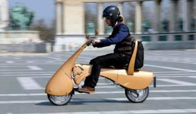 MOVEO: una scooter eléctrica y plegable