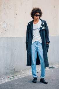maxi coat streetstyle .