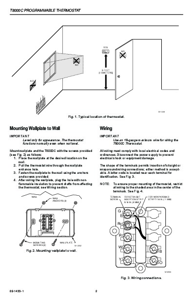 honeywell 8000 wiring diagram