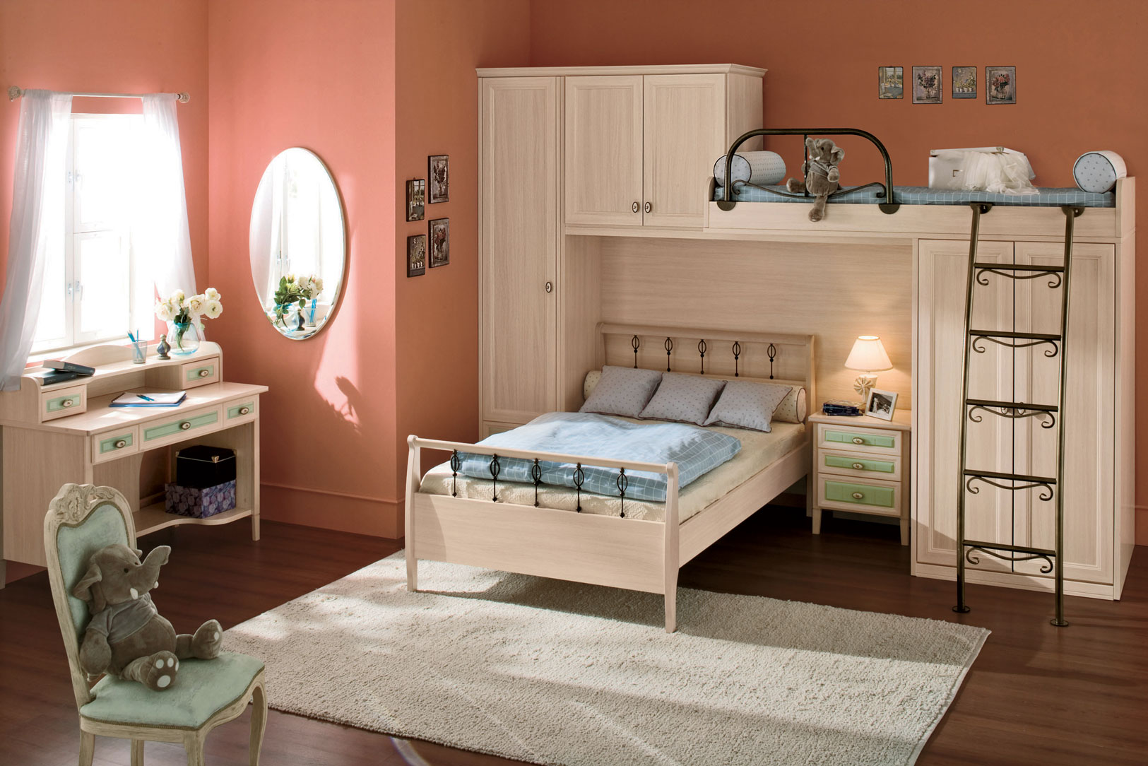 Kids Rooms Small Spaces Kid 39s Rooms From Russian Maker Akossta