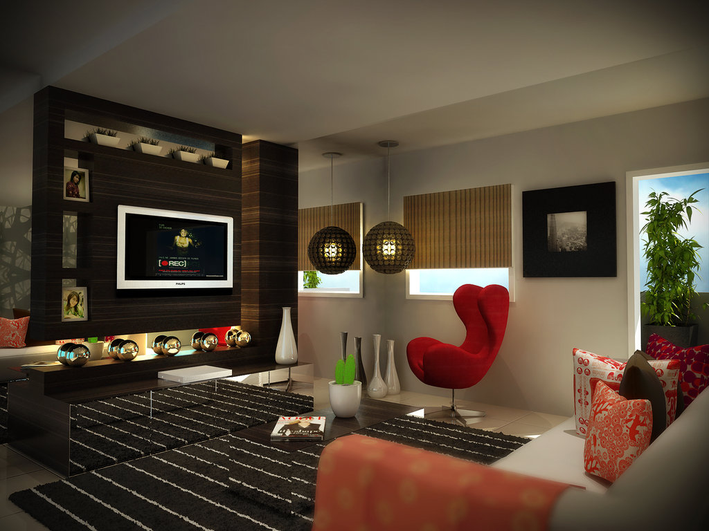 Modern Living Room Decoration Living Room And Dining Room Design Living Room Interior