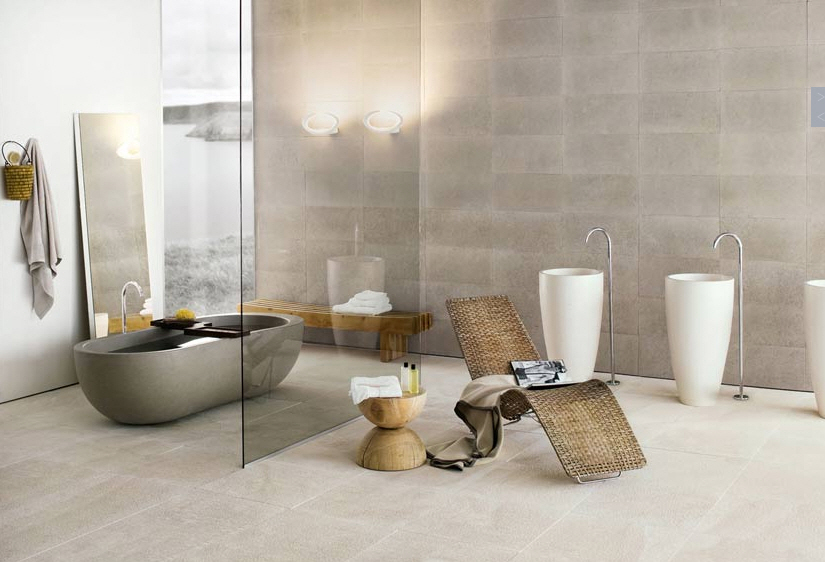 divider warm neutral shade reflecting harmonious bathroom modern bathrooms designs pictures furniture gallery