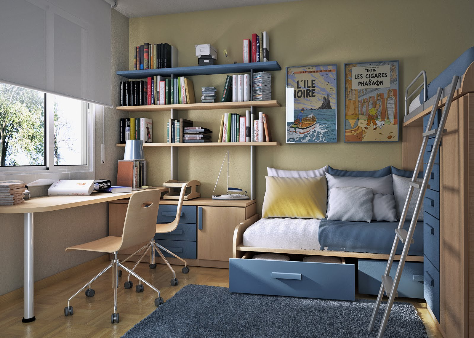 Small Study Room Ideas Small Floorspace Kids Rooms