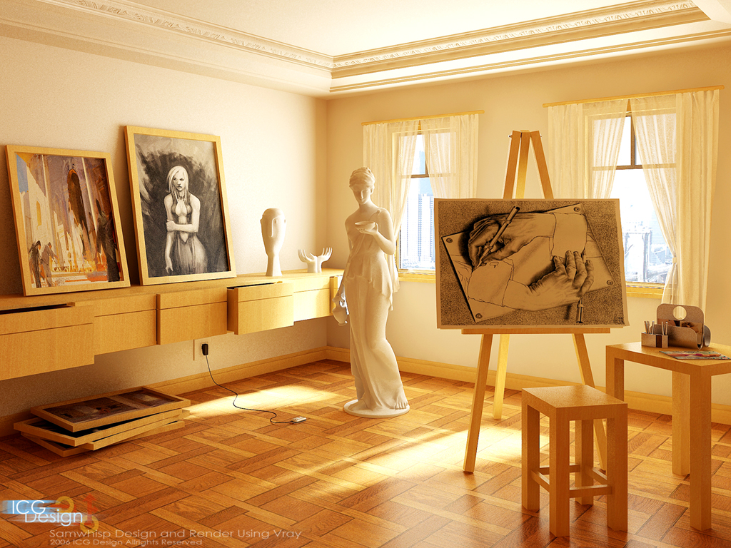Art Studio Decor My Dream House Spaces That Inspire Solitude