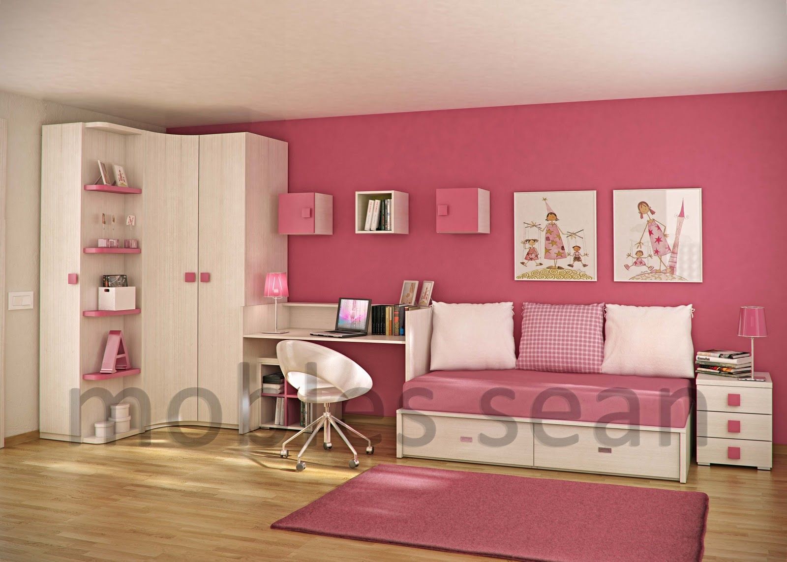 Kids Rooms Small Spaces Space Saving Designs For Small Kids Rooms