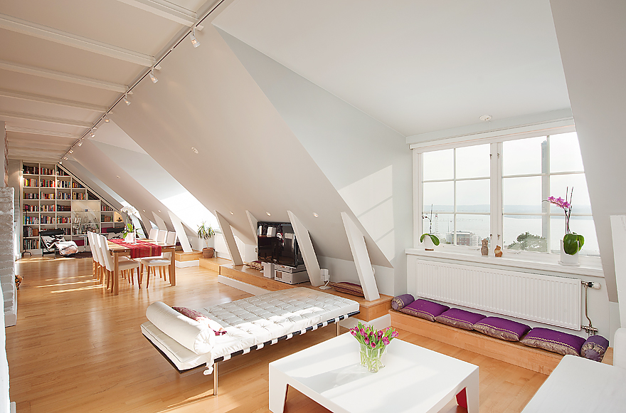 stockholm attic stepped walls steep ceilings stockholm attic stepped walls steep ceilings