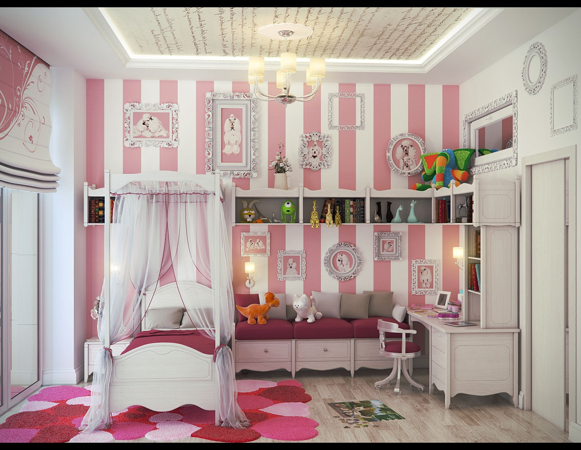 Pretty Girls Bedrooms Cute Girls 39 Rooms