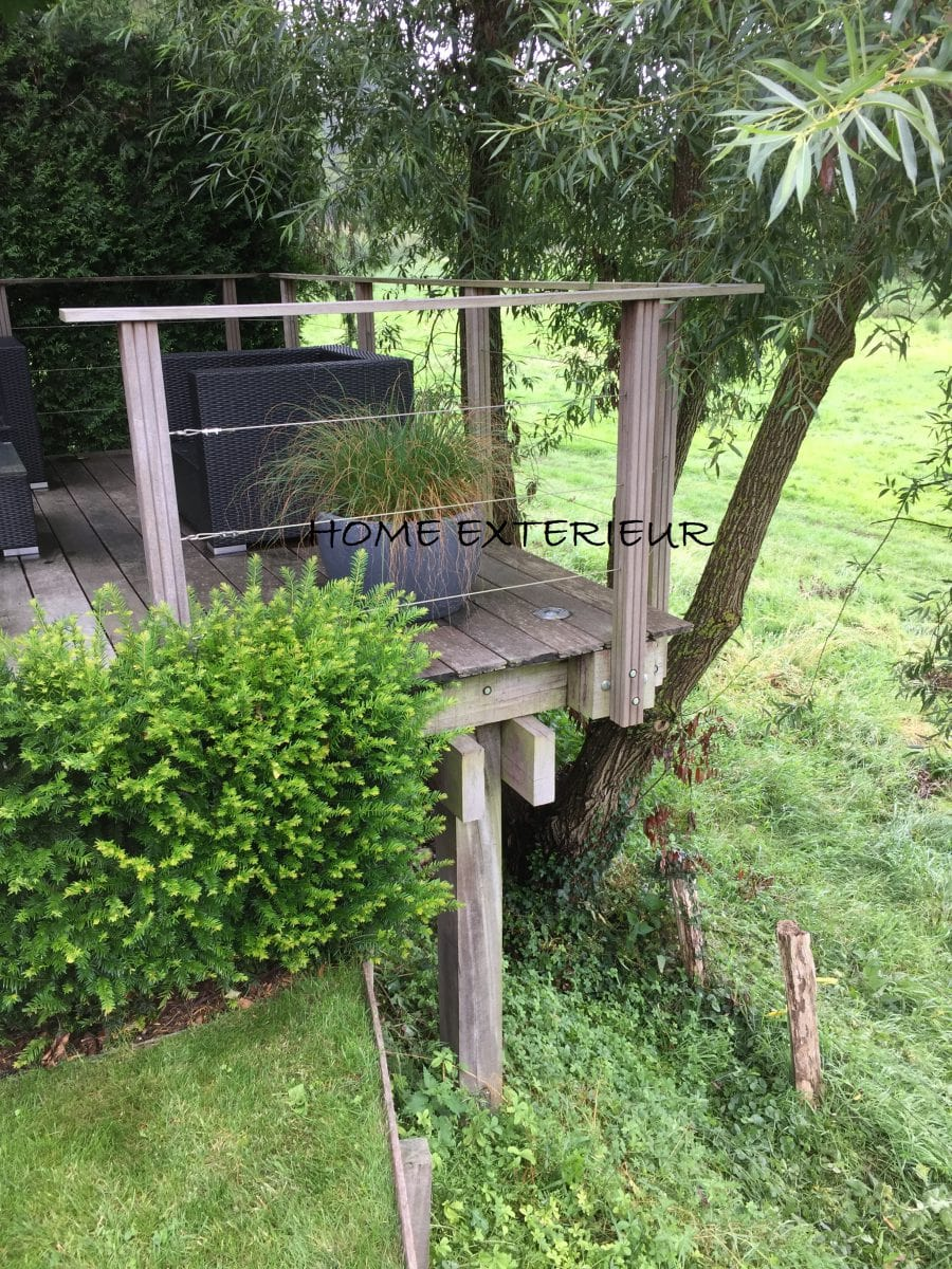 Aménagement Haie Terrasse | Terrasse Zen