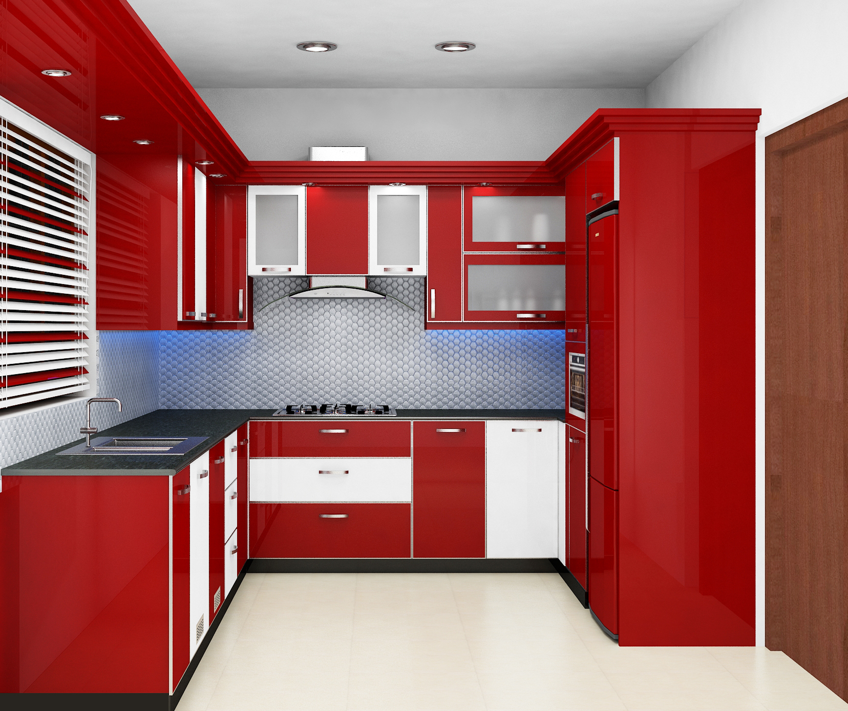 Homes Interior Designs Exemplary And Amazing Modular Kitchen Home Interior Design