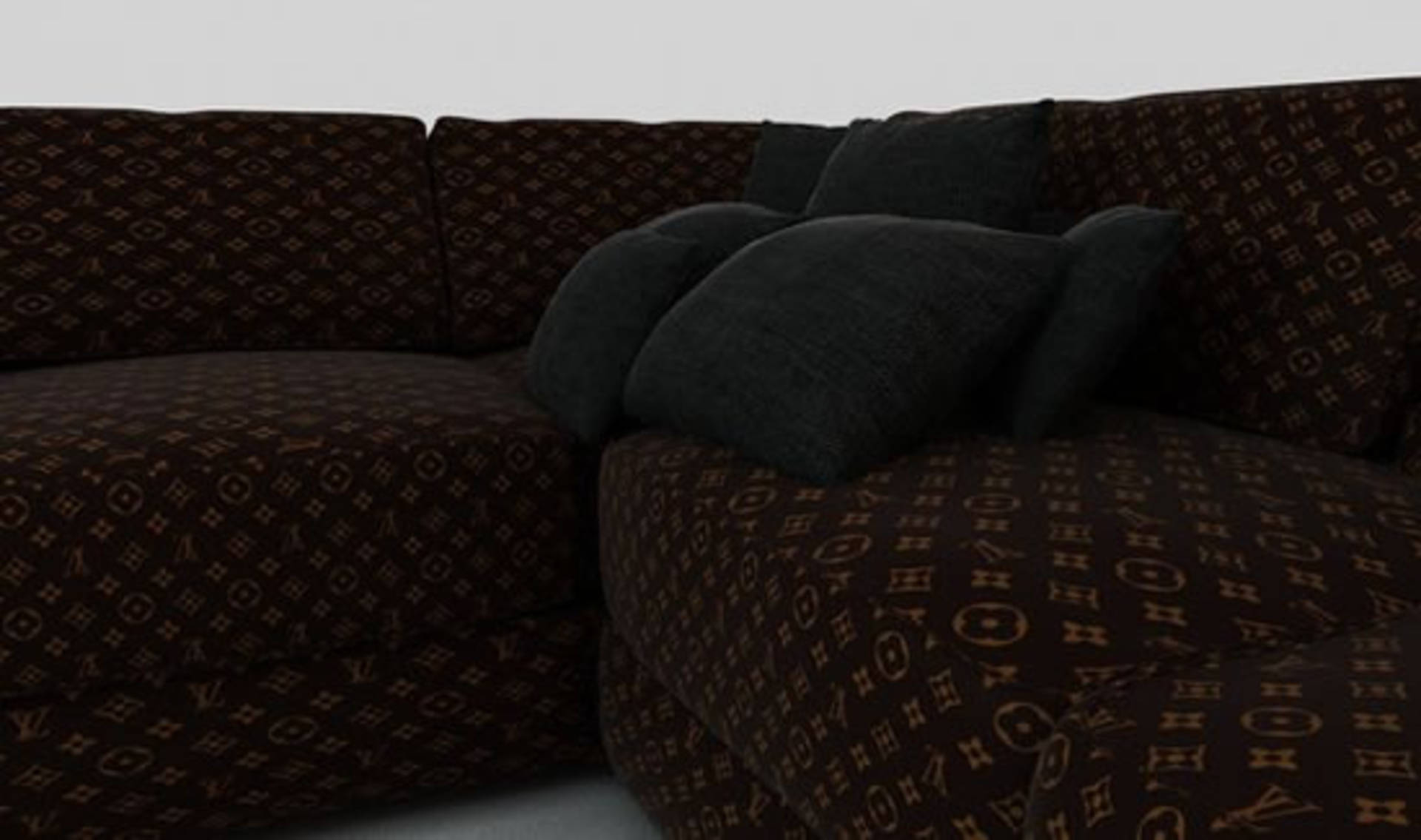 Big Sofa Glamour Luxury And Glamour Louis Vuitton Sofas By Jason Phillips