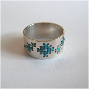 вышитое кольцо